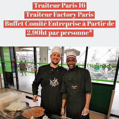 Traiteur Paris 16