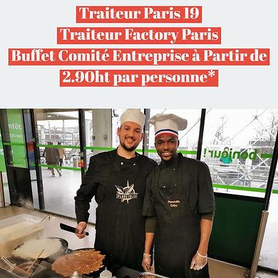 Traiteur Paris 19