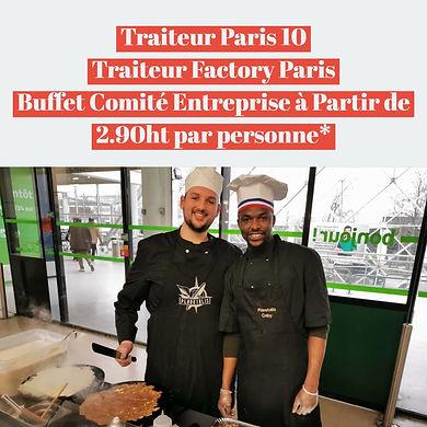 Traiteur Paris 10