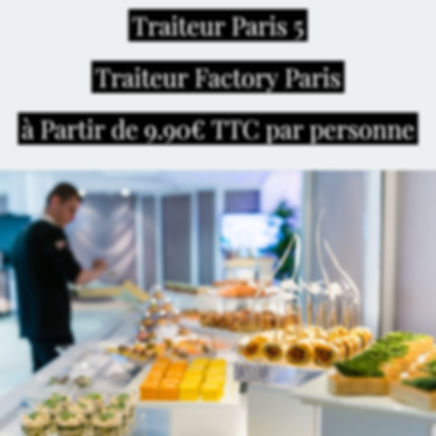 Traiteur Paris 5