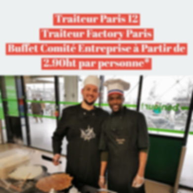 Traiteur Paris 12