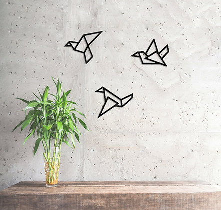 Üçlü Origami Kuş