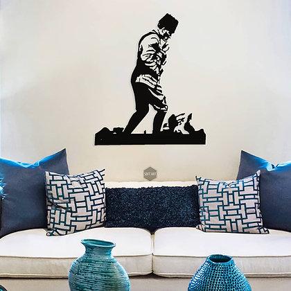 Ayakta Atatürk Portresi