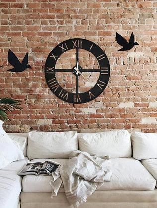 İkili Kuş & Saat Kombini