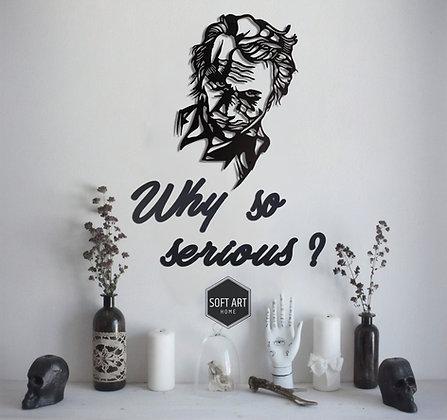 "JOKER ""Why So Serious"" Kombin"