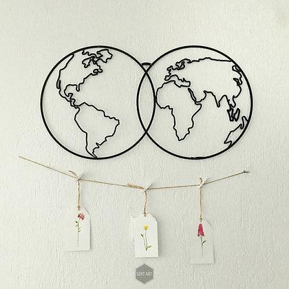 İkili Dünya Haritası