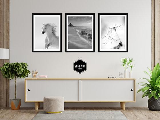 Grey Horse Tablo Set