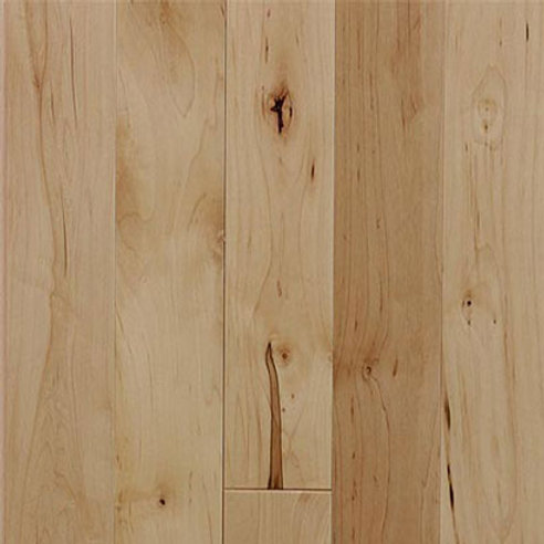 Maple Prefinished Natural/Character Grade Natural Color