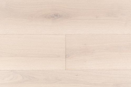 "European Oak ¾"" Hardwood Flooring, High Durability Finish, White Washed Color Name: Dresden"