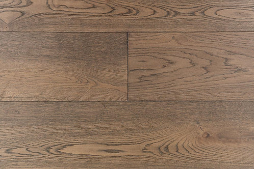 "European Oak ¾"" Hardwood Flooring, High Durability Finish, Medium Brown Color  Name: Leipzig"