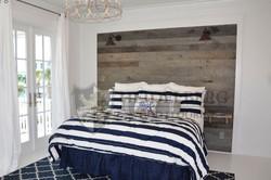 Reclaimed Oak Weathered Gray Panel