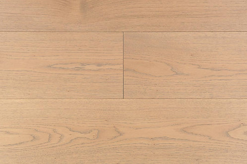 "European Oak ¾"" Hardwood Flooring, High Durability Finish, Light Brown Color  Name: Brunswick"