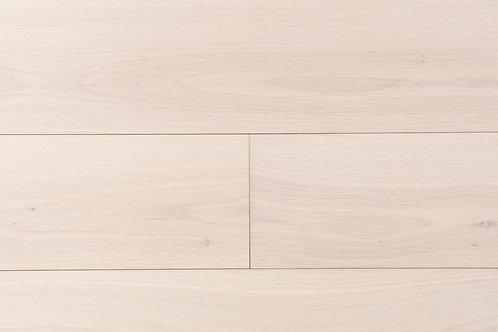 "European Oak ¾"" Hardwood Flooring, High Durability Finish, White Washed Color  Name: Bremen"