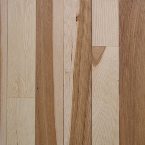 Hickory Prefinished Natural/Character Grade Natural Color