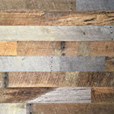 Reclaimed Oak Wall Covering Gray and Brown Mix