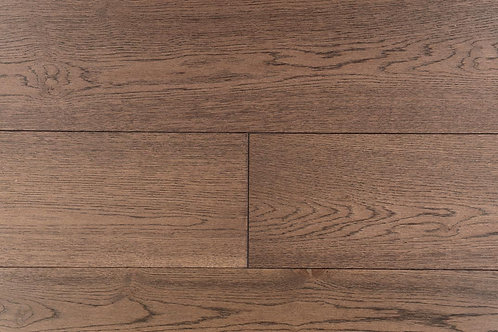 "European Oak ¾"" Hardwood Flooring, High Durability Finish, Medium Brown Color  Name: Hannover"