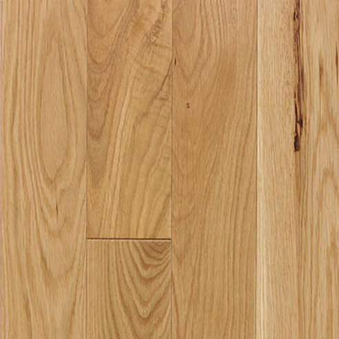 White Oak Prefinished Natural/Character Grade Natural Color