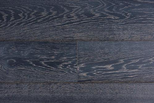 """European Oak ¾"""" Hardwood Flooring, High Durability Finish, Dark Chocolate Color Name: Leverkusen"""