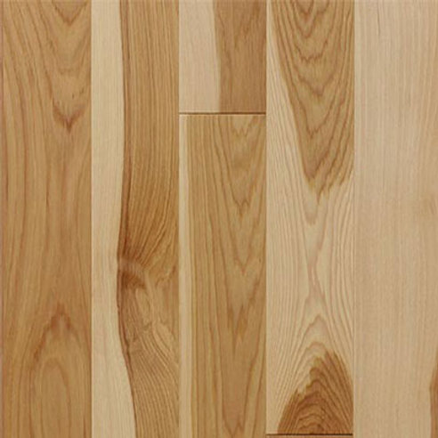 Hickory Prefinished Select Grade Natural Color