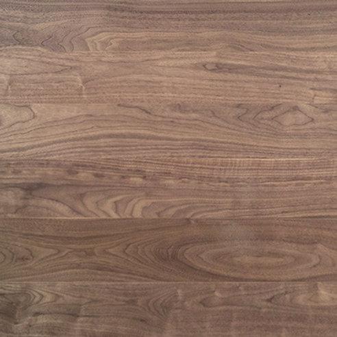 Clear Grade Wide Plank Walnut Hardwood Flooring