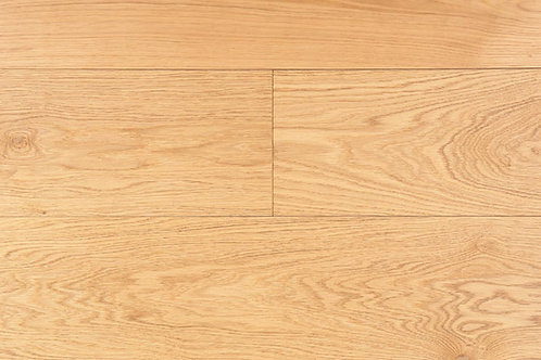 Example panel of European white oak, colored natural/neutral, named Berlin