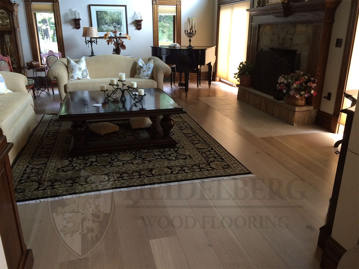 White Oak Select Custom Stain
