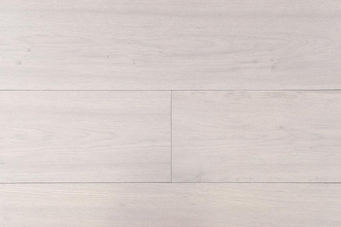 "European Oak ¾"" Hardwood Flooring, High Durability Finish, Light Gray, Graywash Color Name: Mainz"