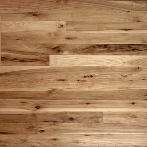 Hickory Unfinished Natural/Character Grade