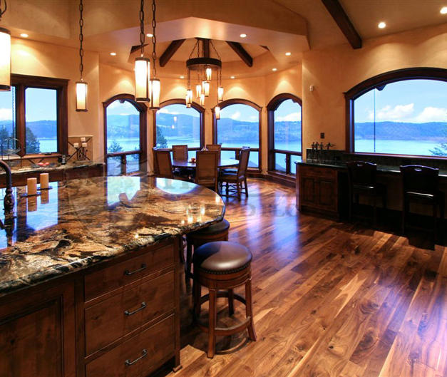 """Jobsite Finished 4,5,6"""" Solid Walnut, Natural Character Grade"""