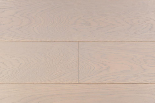 "European Oak ¾"" Hardwood Flooring, High Durability Finish, Light Brown White Hint Color Name: Weimar"