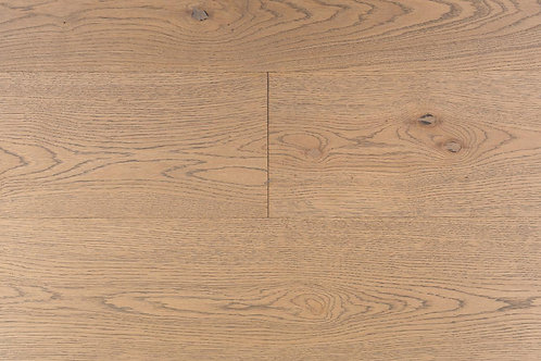 "European Oak ¾"" Hardwood Flooring, High Durability Finish, Light Brown Color Name: Frankfurt"