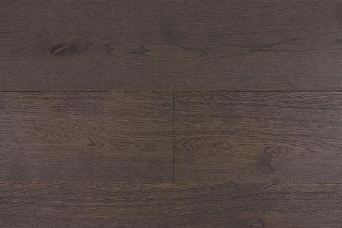 "European Oak ¾"" Hardwood Flooring, High Durability Finish, Dark Brown, Chocolate Color Name: Hamburg"