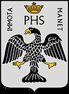stemma comune vettoriale con sfondo arge