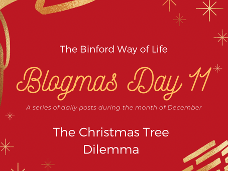 Blogmas Day 11 : The Christmas Tree Dilemma