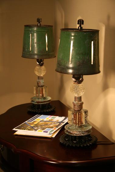 Green Dainty Apple Lamp 1&2