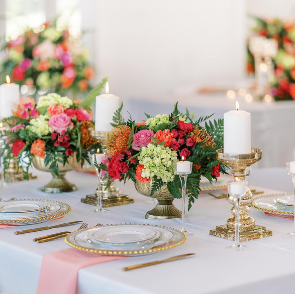 Design: AlexCole Company  Florals: Summerfield Floral Studio  Cake: Marckita's Munchies  Photographer: Nelya Photography  Tableware: Showtime Event Rentals