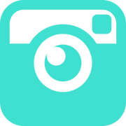 free-turquoise-instagram-icon--download-