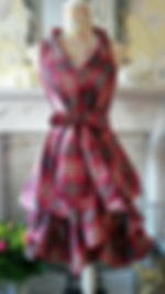 Stunning tartan wrap dresses in a range of colours