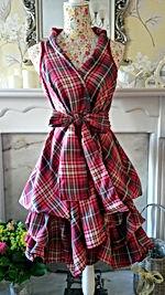Stunning tartan wrap dresses in a range of colours