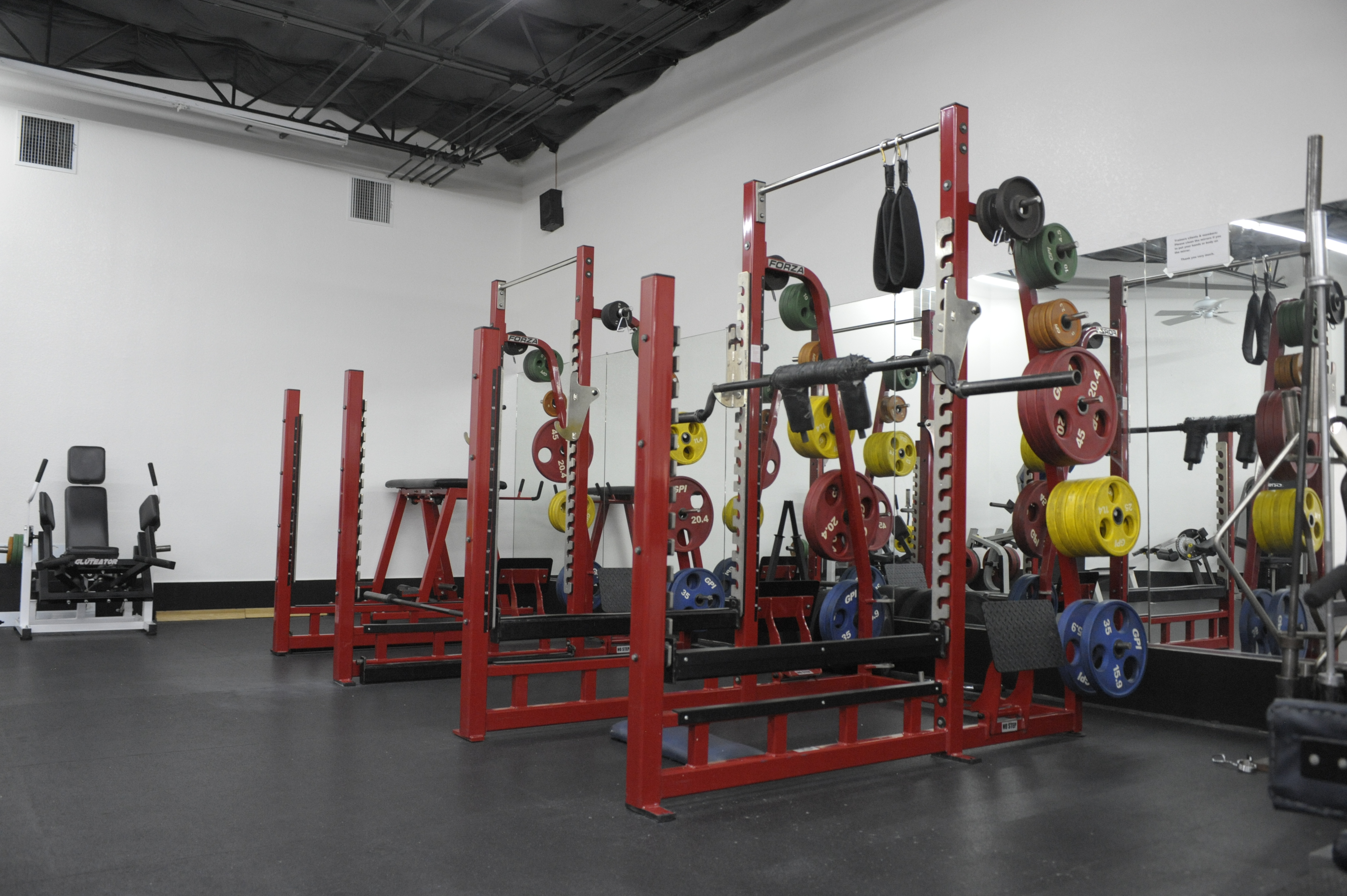 Squat Cages and Bars