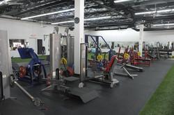 Weight Room Floor - View 1