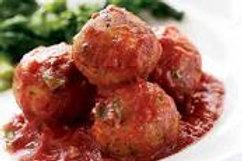 Boulettes de boeuf sauce tomate - 50 gr pièce