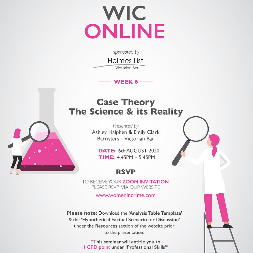 WIC Online - Case Theory: The Science & its Reality
