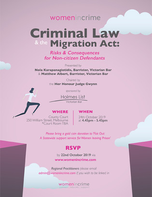 Criminal Law & The Migration Act