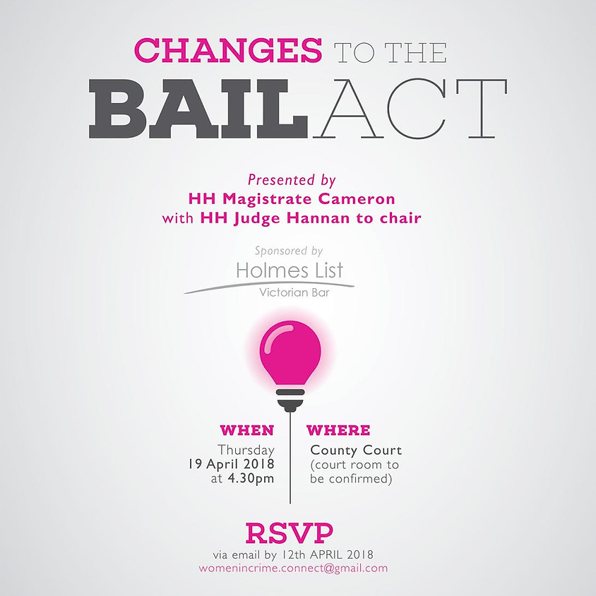 Changes to the Bail Act
