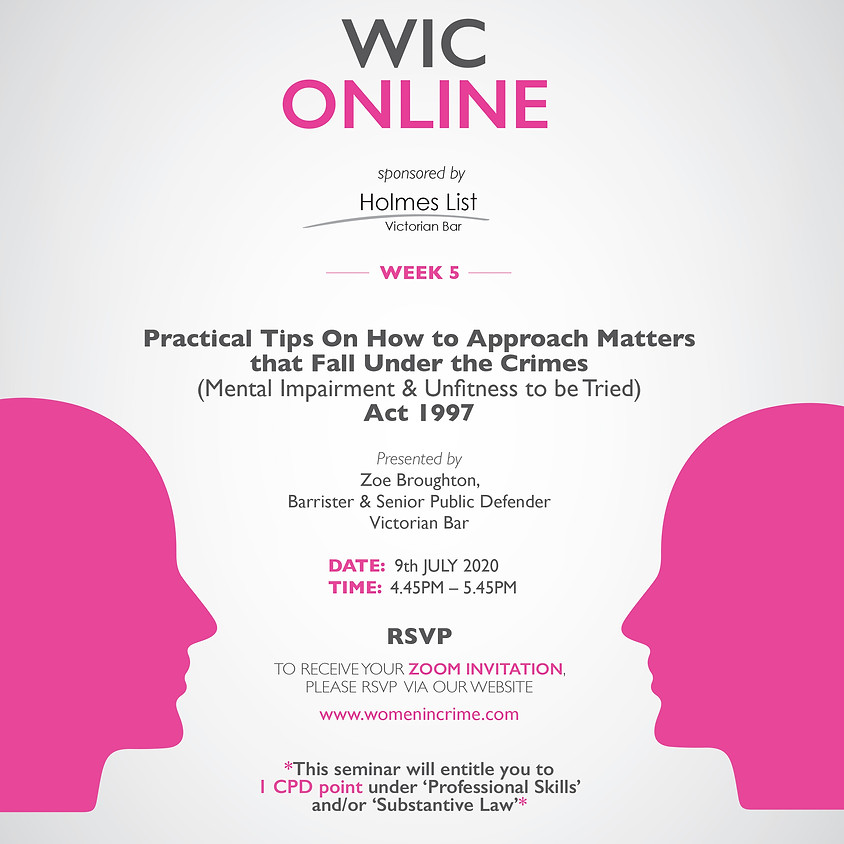 WIC Online - How to Approach Matters that Fall Under the CMIA