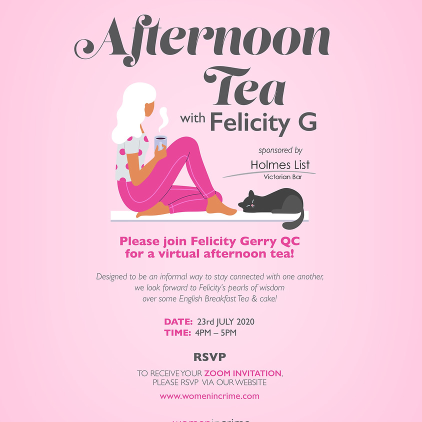 Afternoon Tea with Felicity G
