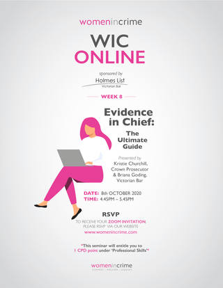 WIC - Evidence in chief