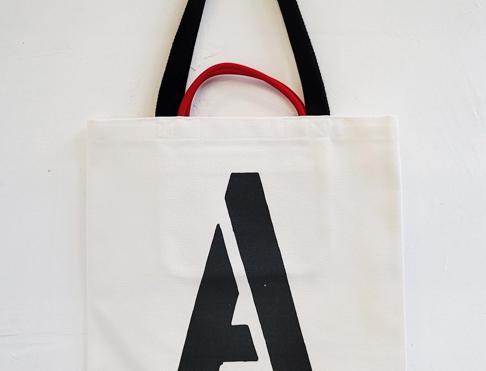 A FOR Alligator TOTE BAG
