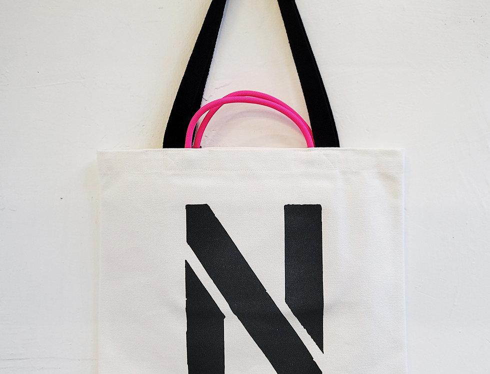 N FOR Narwharl TOTE BAG
